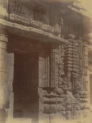 Bhadraka and entrance to the Bhagavati Temple, Bhubaneshwar